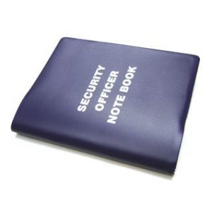 Security Note Books & Other Security Items