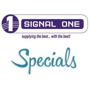 Signal One Specials